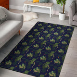 Boa Pattern Print Design 02 Area Rug