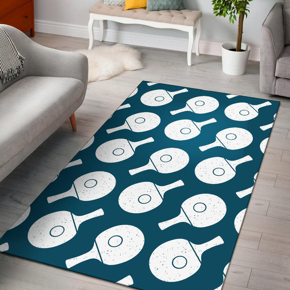 Ping Pong Pattern Print Design A02 Area Rug