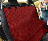 Multiple myeloma Pattern Print Design A02 Rear Dog Car Seat Cover Hammock