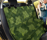 Kale Pattern Print Design 01 Rear Dog Car Seat Cover Hammock