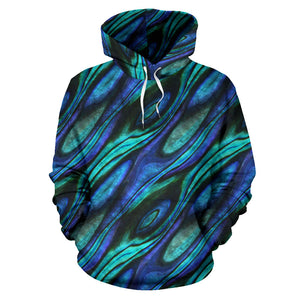 Abalone Pattern Print Design 03 Pullover Hoodie