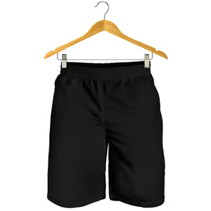 Black Design Men Shorts
