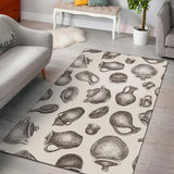 Pottery Pattern Print Design A01 Area Rug