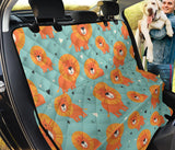 Lion Baby Pattern Print Design 03 Rear Dog Car Seat Cover Hammock