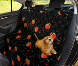 Maracas Pattern Print Design 03 Rear Dog Car Seat Cover Hammock