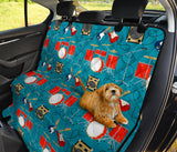 Drum Set Guitar Pattern Print Design 02 Rear Dog Car Seat Cover Hammock