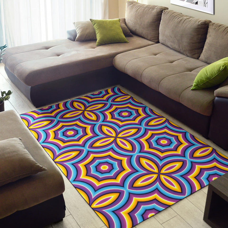 Optical illusion Pattern Print Design A03 Area Rug