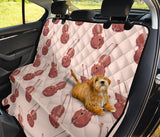 Cello Pattern Print Design 03 Rear Dog Car Seat Cover Hammock