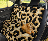 Jaguar Skin Pattern Print Design 02 Rear Dog Car Seat Cover Hammock