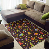 Snail Pattern Print Design 01 Area Rug