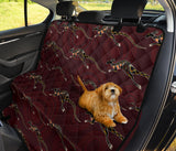 Kangaroos Pattern Print Design 05 Rear Dog Car Seat Cover Hammock