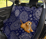 Mandala Pattern Print Design 02 Rear Dog Car Seat Cover Hammock