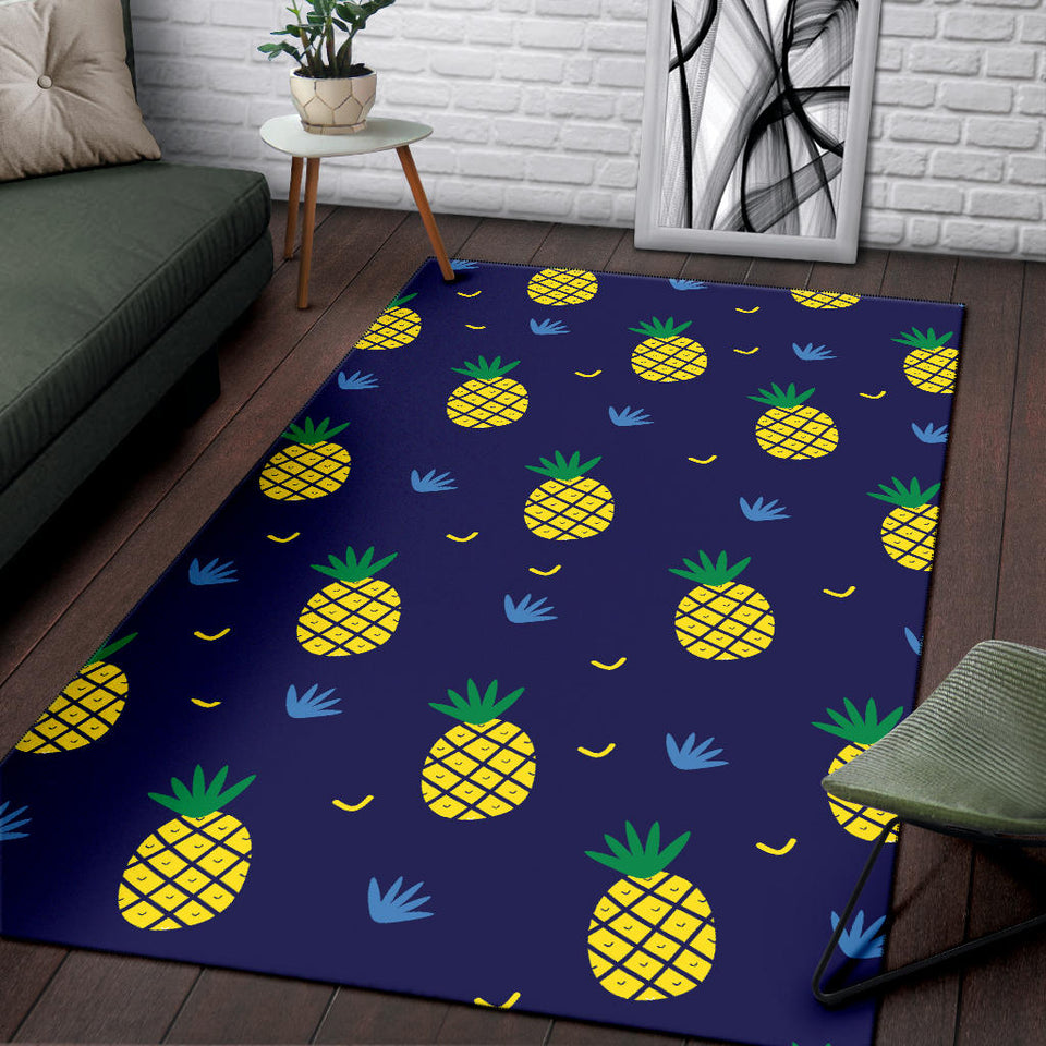 Pineapple Pattern Print Design A01 Area Rug