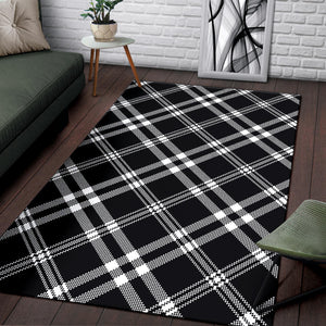 Madras Pattern Print Design 03 Area Rug