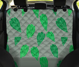 Lettuce Pattern Print Design 02 Rear Dog Car Seat Cover Hammock