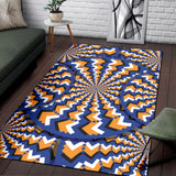 Optical illusion Pattern Print Design A01 Area Rug