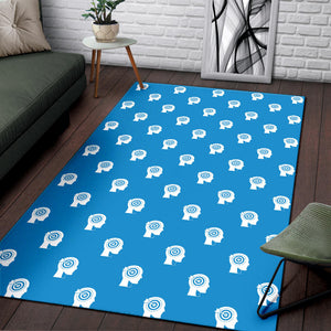 Psychology Pattern Print Design A03 Area Rug