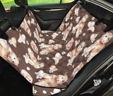 Hamster Pattern Print Design 03 Rear Dog Car Seat Cover Hammock