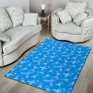 Prostate cancer Pattern Print Design A01 Area Rug