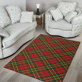 Plaid Holiday Pattern Print Design A01 Area Rug