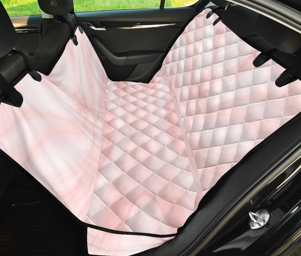 Marble Pattern Print Design 03 Rear Dog Car Seat Cover Hammock