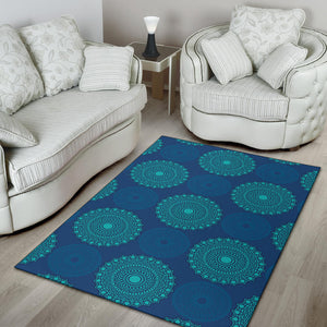 Medallion Pattern Print Design 04 Area Rug