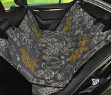 Hope Pattern Print Design 01 Rear Dog Car Seat Cover Hammock