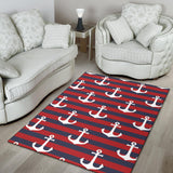 Nautical Pattern Print Design A05 Area Rug