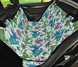 Angelfish Tribal Pattern Print Design 01 Rear Dog Car Seat Cover Hammock