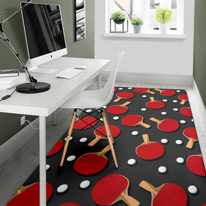 Ping Pong Pattern Print Design A05 Area Rug