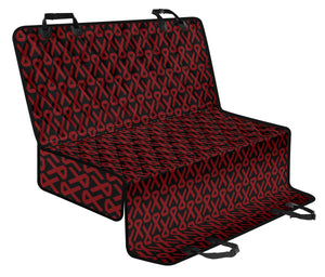 Multiple myeloma Pattern Print Design A01 Rear Dog Car Seat Cover Hammock