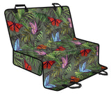 Monarch Butterfly Pattern Print Design 04 Rear Dog Car Seat Cover Hammock