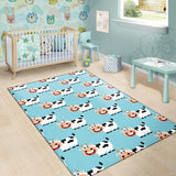 Cattle Cute Pattern Print Design 01 Area Rug