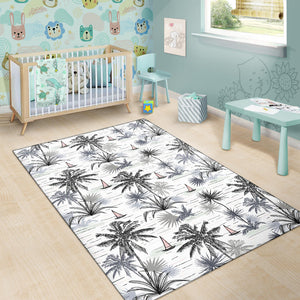 Pacific island Pattern Print Design A04 Area Rug