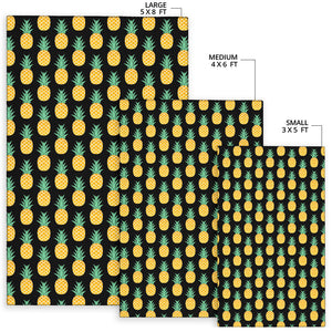 Pineapple Pattern Print Design A03 Area Rug