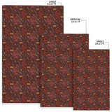 Barbecue Pattern Print Design 01 Area Rug