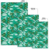 Palm Tree Pattern Print Design A01 Area Rug