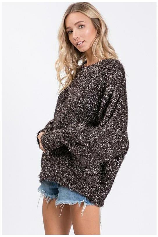 Sparkle Sweater - Not Your Sisters Closet Boutique