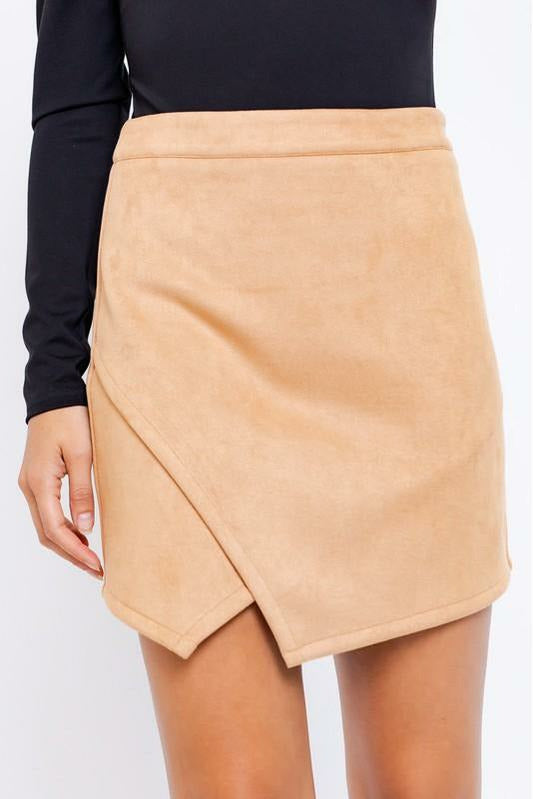 Party Suede Skirt