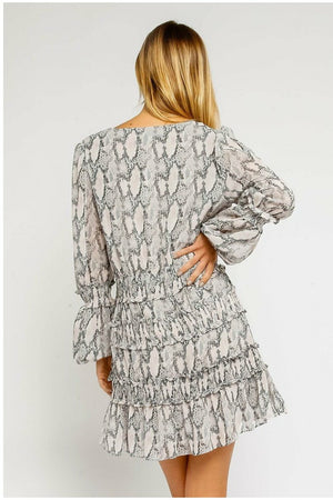 Snake Skin Dress - Not Your Sisters Closet Boutique