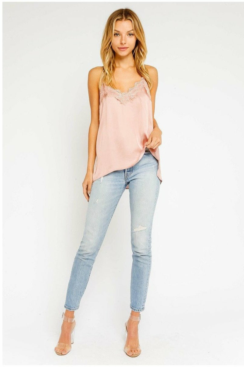 Blush Tank Top - Not Your Sisters Closet Boutique