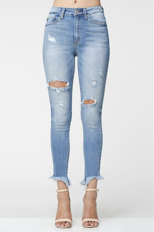 High Rise Distressed Allison Jean