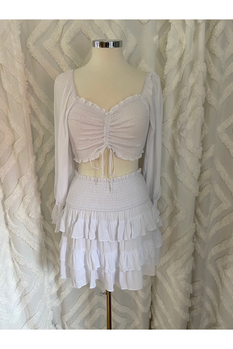 Sweet Summer Time Two Piece Set Skirt