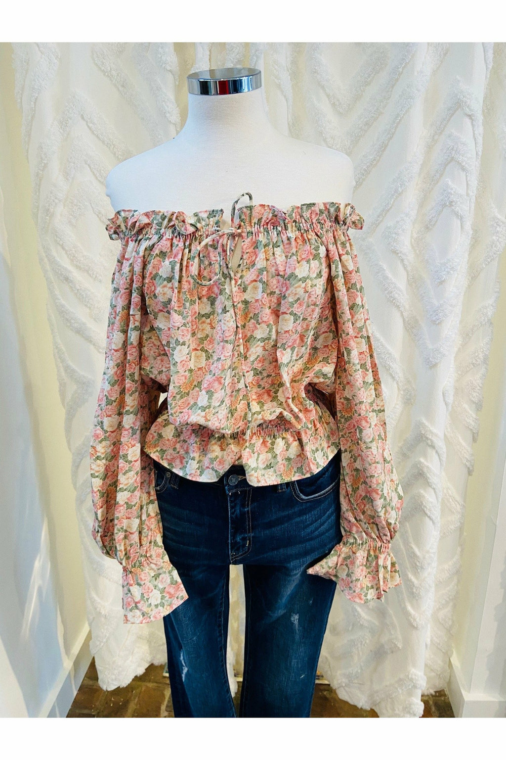 In Bloom Off Shoulder