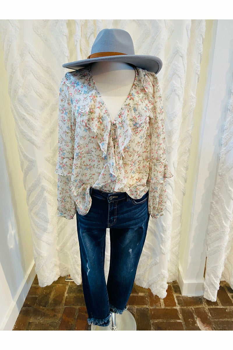 Flowers of Spring Blouse