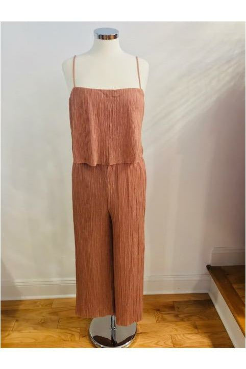Dusty Blush Jumpsuit