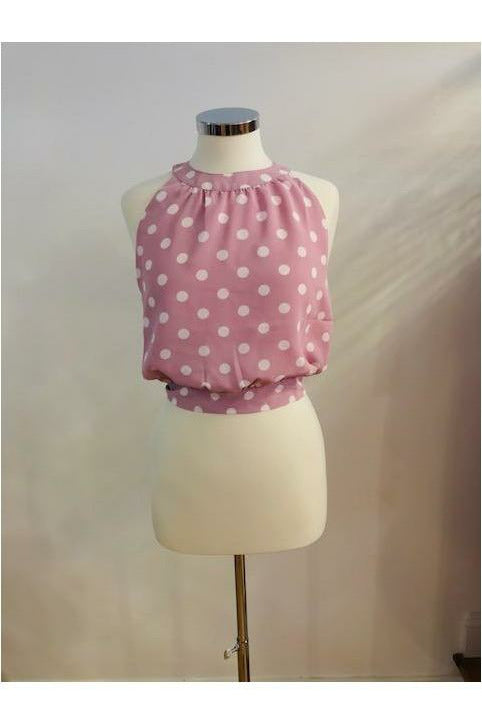 Halter Polk A Dot