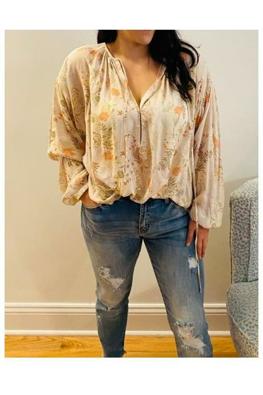 Flowers In Spring Blouse