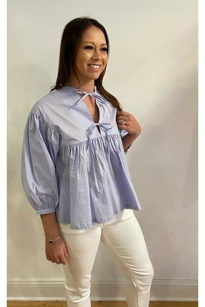 Dive into Spring Blouse