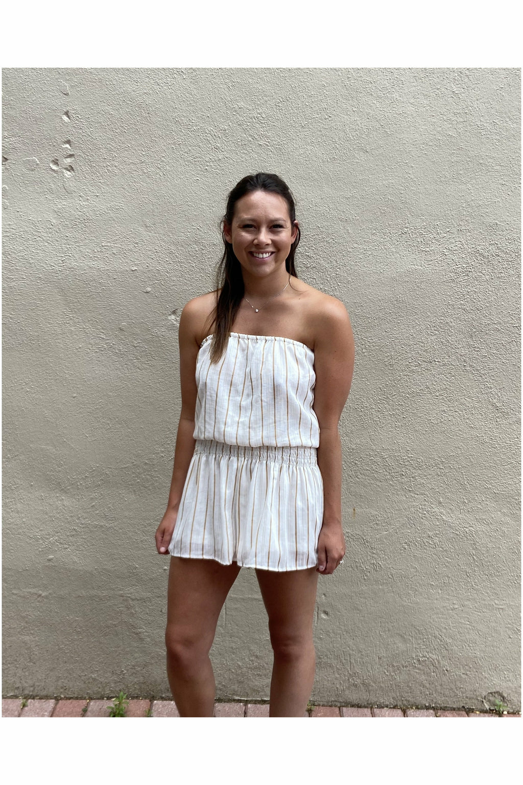 Lets Go To the Beach Romper
